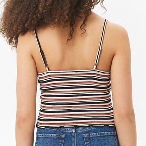 Forever 21 Tops - NWT Striped Crop Cami